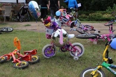 Bike parade carnage.