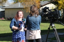 Thanks to Karley Schwab, who coordinated the event, and CTV for their coverage of it. Awesome job, Schwab!
