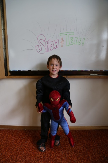 I don't know about other camps, but ours had Batman AND Spiderman visit!