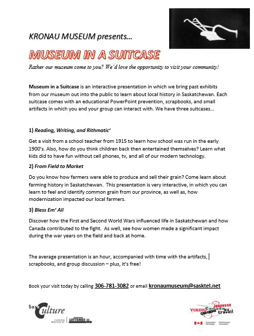 Museum in a Suitcase Poster