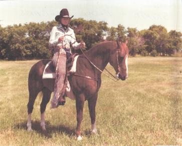 Skipio - Eldon Dunbar's Quarter Horse